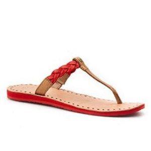 UGG Bria Braid Sandals Size 8